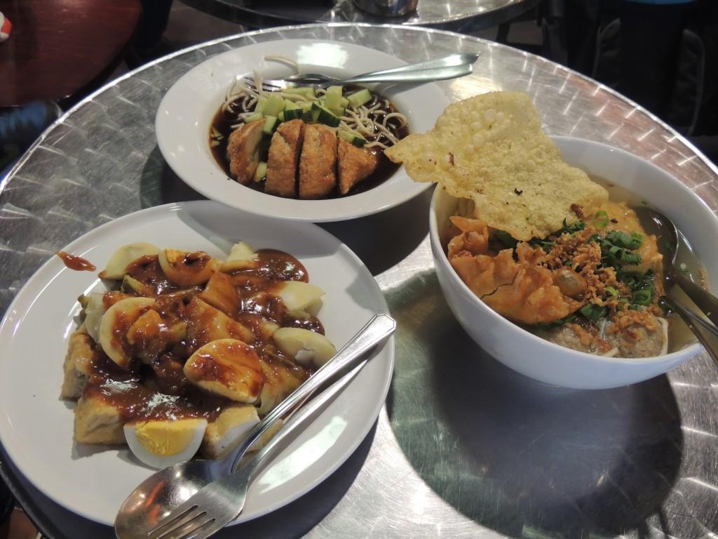 Een aantal van haar befaamde street food gerechten
