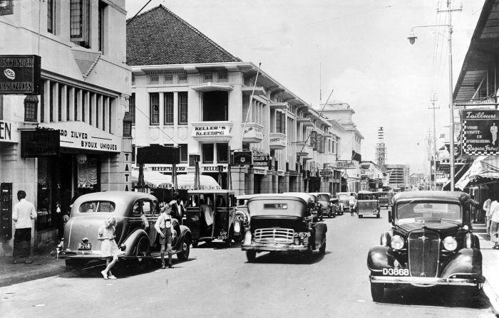 Jalan Braga tahun 1930an