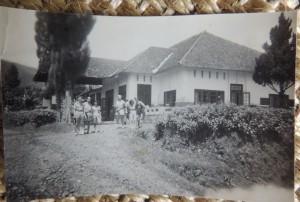 Het huis in Linggadjati © Joty ter Kulve