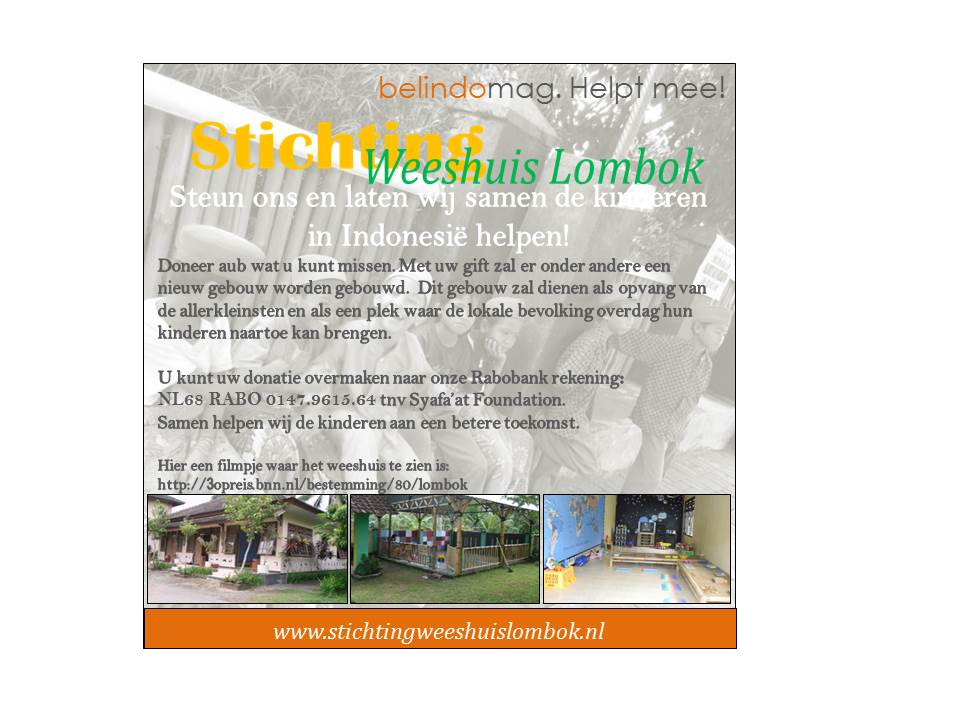 Stichting weeshuis Lombok belindomag.nl