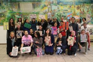 Workshop Batik Art op Snijplank