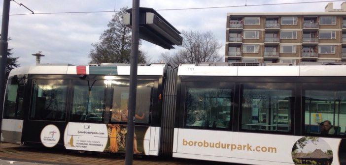 Candi Borobudur dan Prambanan hiasi tram-tram di Belanda
